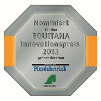 Nominierung für den Equitana Innovationspreis 2013